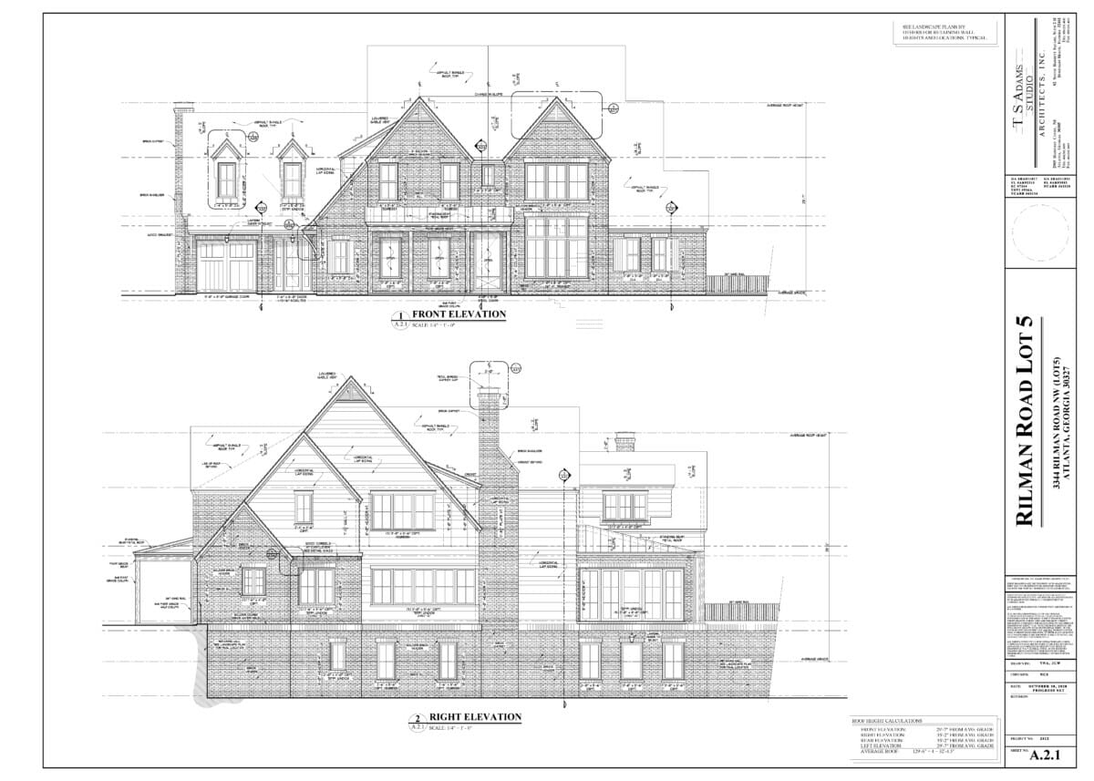 Front/Right Elevation